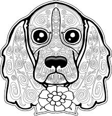 Printable Adult Coloring Pages Dogs To Print 16 J For Adults 9