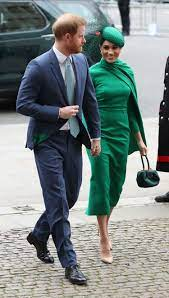 Meghan Markle Wears Green Dress For Final Royal Event, Commonwealth Day  Service
