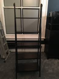 black laquer furniture. Lombok Canton Ladder Bookcase Black Laquer Furniture