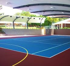 court surfaces basketball