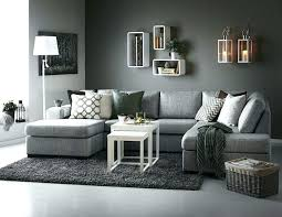 blue gray walls living room