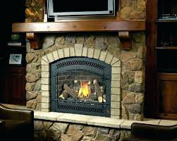 gas heaters with blower outdoor fireplace natural logs log insert ventless