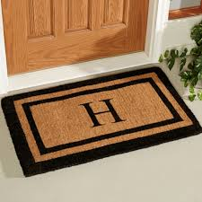 personalized front door matsTips Personalized Your Monogrammed Doormat For Indoor And Outdoor