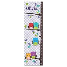 growth chart for girl personalized