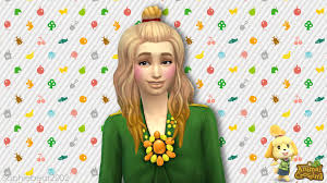My take on Isabelle in the Sims 4! 🍃 : AnimalCrossing