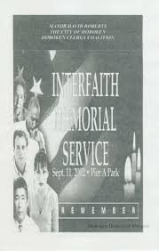 program for interfaith memorial service sept 11 2002 pier a title
