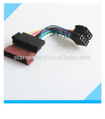 custom auto 8 pin stereo connector iso wire harness for ford audio custom auto 8 pin stereo connector iso wire harness for ford audio