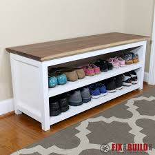 Entry benches shoe storage Mudroom Bench Diy Entryway Bench With Shoe Storage Ana White Ana White Entryway Shoe Bench Diy Projects