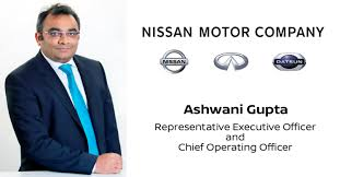 Nissan appoints Ashwani Gupta as Representative Executive Officer and Chief  Operating Officer of Nissan.