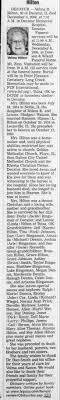 Obituary for Velma D. Hilton, 1914-2006 (Aged 92) - Newspapers.com