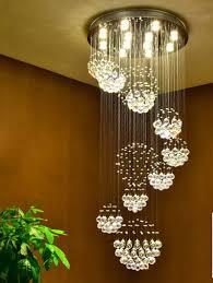 image of popular crystal ball chandelier
