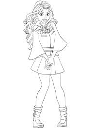 Selected Disney Descendants 2 Coloring Pages Uma From Page Free Idea