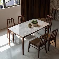 luxury dining room sets marble. Home And Interior: Likeable Small Marble Top Dining Table Of Simple Mid Century Vibes Luxury Room Sets