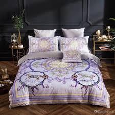 Luxury Designer Bedding Sets Luxury Designer Bedding Set Quilt Duvet Cover Blue Green Bedspreads Cotton Silk Sheets Bed Linen Full Queen King Size Double Bedding Linens Full Duvet