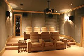 appealing home theater curtains and velvet