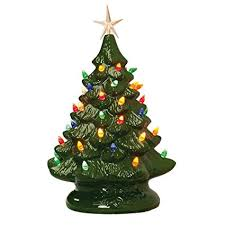 Ceramic Tabletop Christmas Tree With Lights New Amazon 32 Retro Prelit Ceramic Tabletop Christmas Tree With 32
