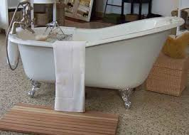 beauty style of cast iron clawfoot tub cast iron clawfoot tub with old fashioned bathtubs