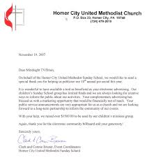 Sample Thank You Letter For Donation To Church Prepasaintdenis Com