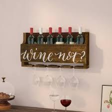 conversation piece wine rack. Mccandless Wine Not Bottle Wall Mounted Rack To Conversation Piece