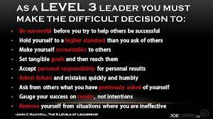 John Maxwell 5 Levels Of Leadership 3 Printable Leadership Lessons From John Maxwell Joe Girard
