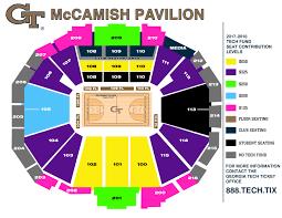 Mccamish Pavilion Seating Chart New Florida State Seminoles