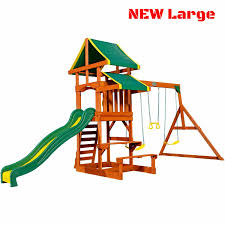 porch swing set for kids toddler backyard patio wooden playset outdoor swing sets for patio