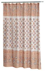 carnation home fashions south beach fabric shower curtain ivory beach style shower curtains by here2