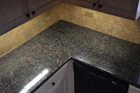 granite tile countertops design