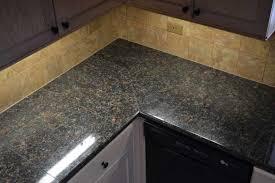 granite tile countertops design
