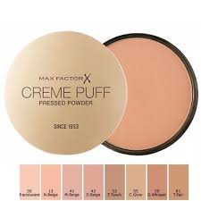 Max Factor Creme Puff Colour Chart Max Factor Creme Puff Compact Powder Choose Your Shade