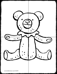 Puzzel Eens Een Teddybeer Kiddicolour