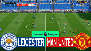 Leicester City vs Manchester United | EPL Matchday 15 | English Premier  League Live PES 2020/2021 - YouTube