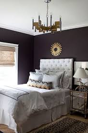 deep purple wall
