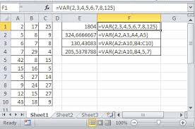 Best Excel Tutorial - How To Calculate Variance In Excel?