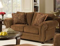 Upholstered Living Room Furniture Simmons 4277 Outback 3 Pc Living Room Sofa Loveseat Chair 4277