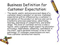 Define Customer Service Customer Service