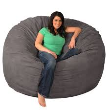 Giant Memory Foam Bean Bag 6-foot Chair - Free Shipping Today -  Overstock.com - 17092312