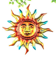 southwest metal wall art southwestern decor outdoor sun blazing