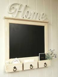 large shabby chic rustic wall hung blackboard chalkboard notice board storage 1 of 4only 2 available