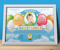 Children Certificate Template Sample Certificate Templates For Kids 9 Free Documents In Pdf Psd