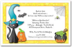 Free Halloween Birthday Invitation Templates Black Cat Halloween Birthday Party Invitation Ideas Free
