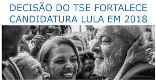 Resultado de imagem para Ministro do TSE nega pedido para excluir Lula de pesquisas