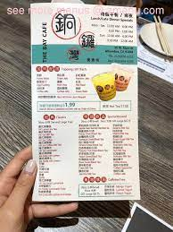 This coffee joint transforms into a lively bar in the evening, complete with a substantial dinner menu and. Online Menu Of The Bay Cafe Restaurant Alhambra California 91801 Zmenu