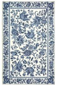 image detail for dollhouse miniature french country shabby blue fl area rug rugs rooster