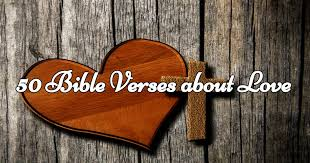 50 verses about love from s heart to us