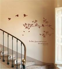 stairs wall art