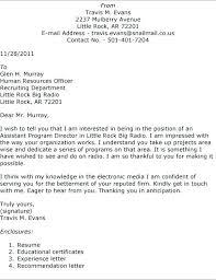Good Resume Cover Letter Examples Fascinating Sample Cover Letter For Applying Job Pdf Sample Cover Letter For