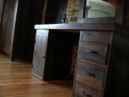 rustic wood office desk. Brilliant Wood Wooden Office Desk Reclaimed Wood Rustic Desk In Wood Office Desk F