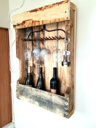 pallet wine cabinet wooden pallet wine rack fab from stuff wood glass holder ideas plans build