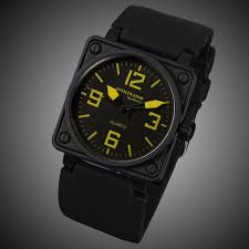 silicone band picture more detailed picture about infantry mens infantry mens quartz watches military square face watches analog male clock tactical army black silicone